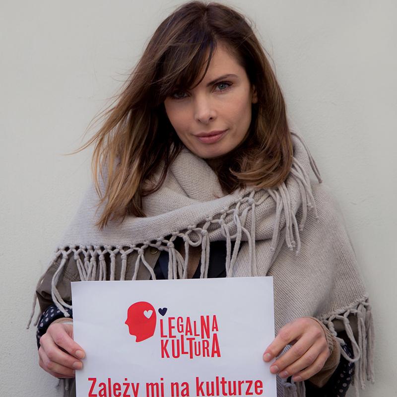 Agnieszka Dygant nie tylko odalszych losach Kariny