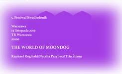 THE WORLD OF MOONDOG  wTeatrze Rozmaitości