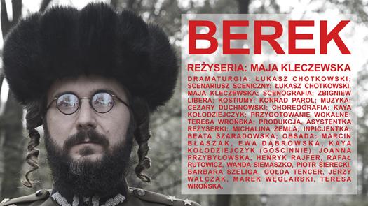 """""""BEREK"""" – najnowsza premiera Teatru Żydowskiego"""