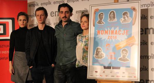 Nominowani do Nagrody im. Zbyszka Cybulskiego