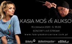 Kasia Moś & AUKSO wFabryce Koncertów