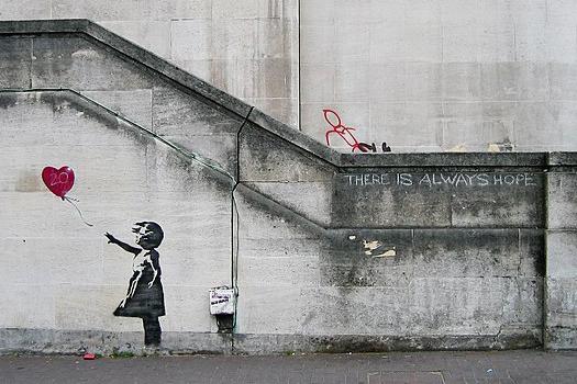 Banksy vs. EUIPO. Anonimowy artysta nie ma praw autorskich