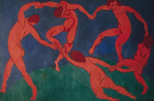 Taniec Matisse'a iŁyk sztuki do kawy