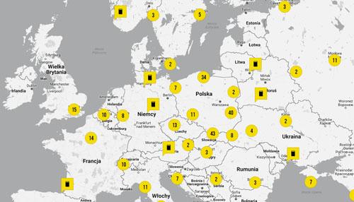 Powstaje interaktywna Literacka Mapa Świata