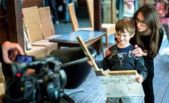 Warsztaty filmowe dla Dzieci zRodzinnych Domów Dziecka