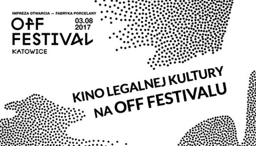 Kino Legalnej Kultury na OFF Festivalu