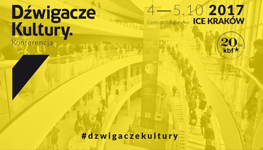 Konferecja Dźwigacze Kultury wKrakowie