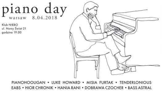 Piano Day Warsaw wNiebie
