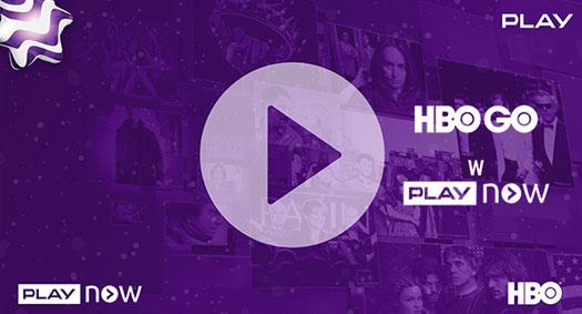 PLAY NOW zdostępem do HBO GO