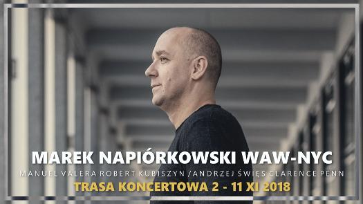 Marek Napiórkowski rusza wtrasę WAW-NYC