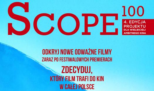 Scope100: zdecyduj, jaki film trafi do kin wcałej Polsce