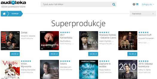Superprodukcje zAudioteki