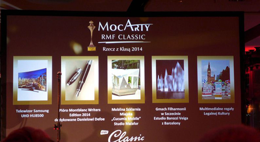 Wręczenie MocArtów RMF Classic