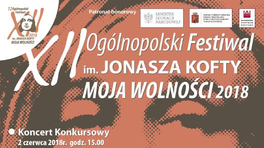 12. Ogólnopolski Festiwal im. Jonasza Kofty