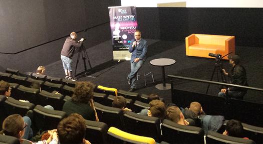 Warsztaty podczas 8 edycji Praskiego Festiwalu Filmów Młodzieżowych