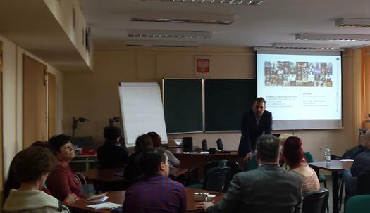 Warsztaty wMazowieckim Samorządowym Centrum Doskonalenia Nauczycieli wPłocku